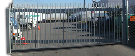 Industrial gate photos